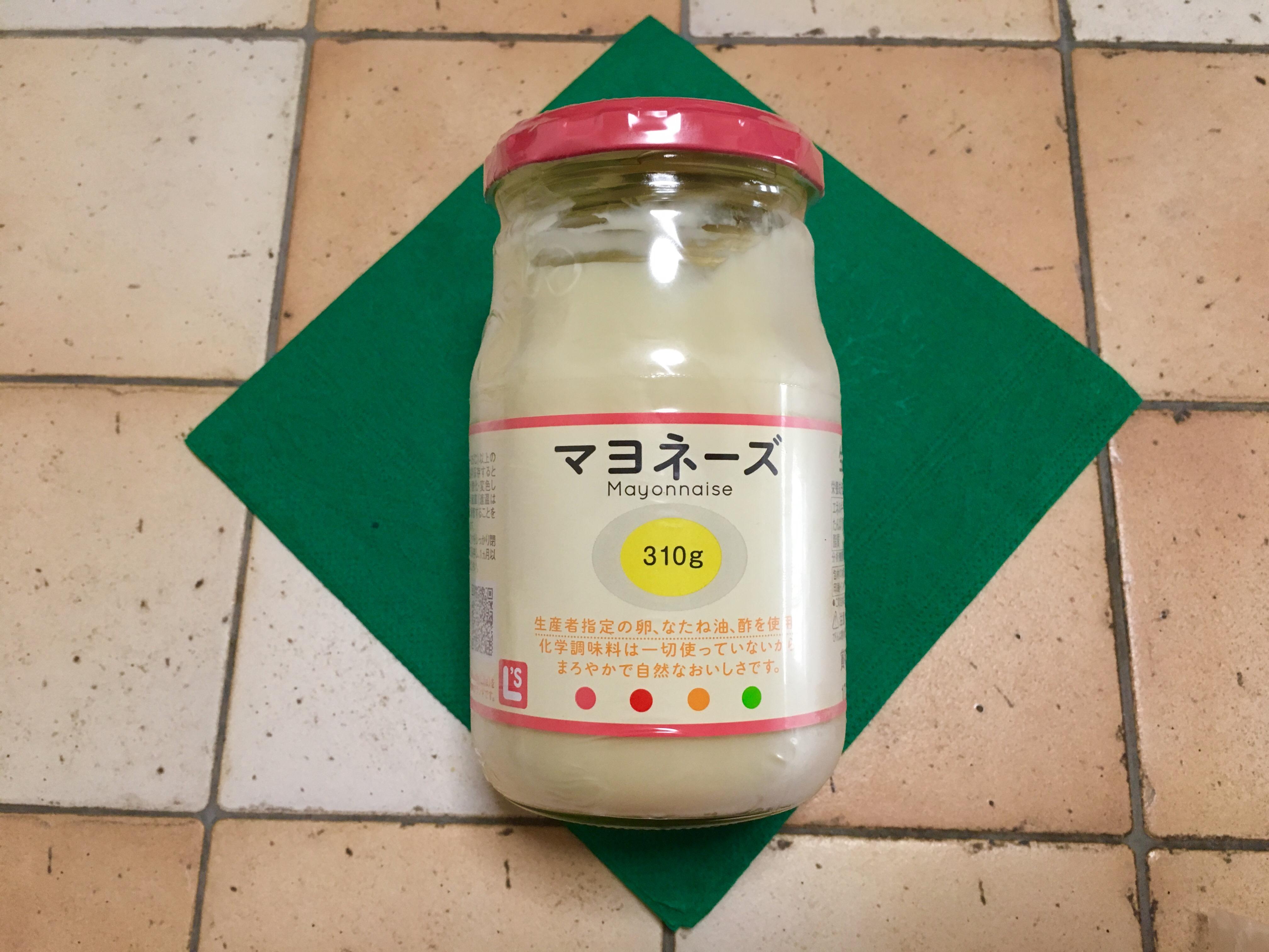 生活クラブの配達品、始めた方限定、マヨネーズ(オリエンタル酵母工業)