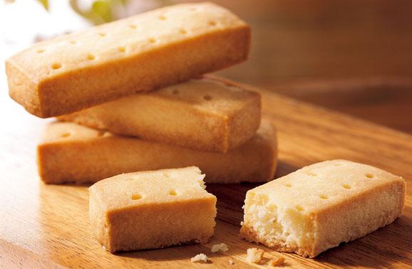 風味豊かな発酵バターのショートブレッド 12本(2本×6袋)